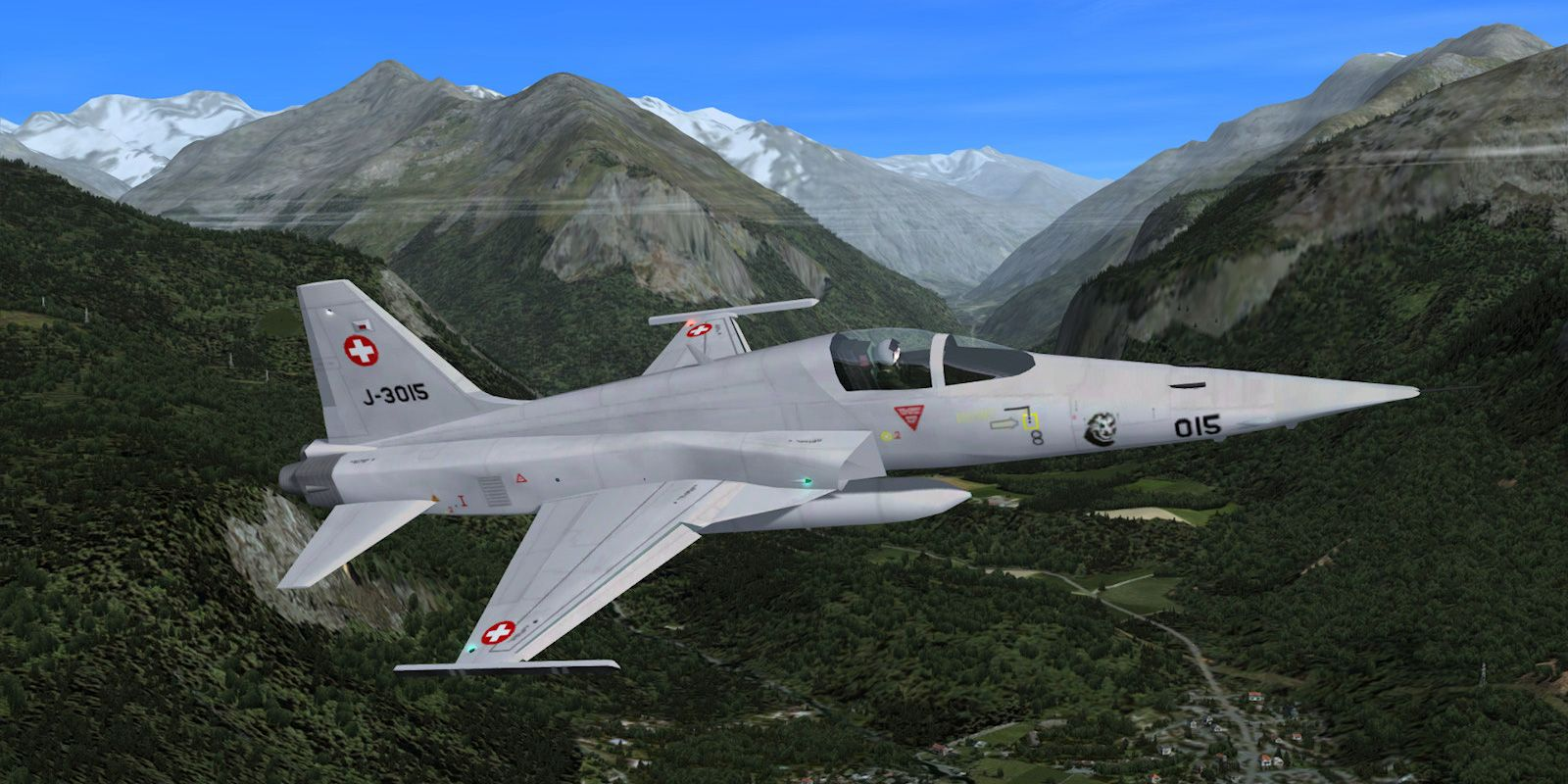 Freeware military AI traffic for Flight Simulator and