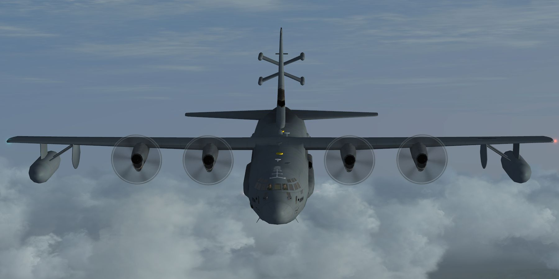 Freeware military AI traffic for Flight Simulator and