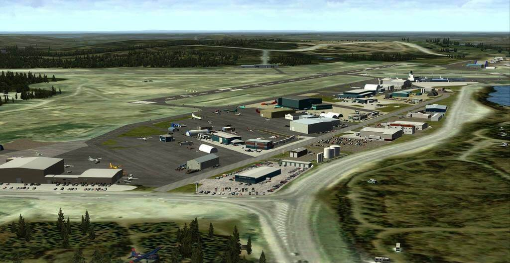 Yellowknife Airport (CYZF) FSX/P3D - Military AI Works