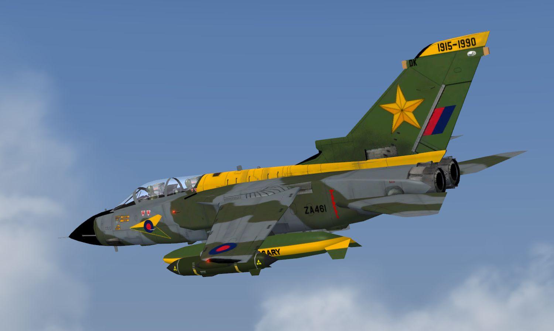 AI Panavia Tornado GR1's, RAF Brüggen, for FSX and P3Dv4