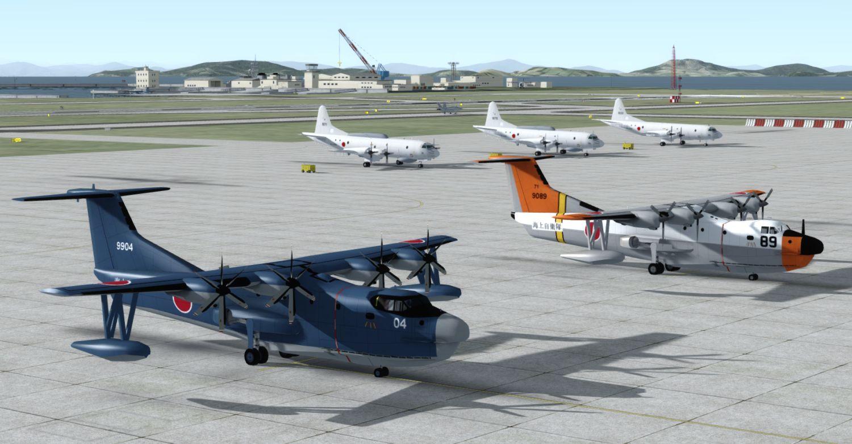 Package RJOI Iwakuni - USMC/JMSDF Air Station 2018 for P3Dv4