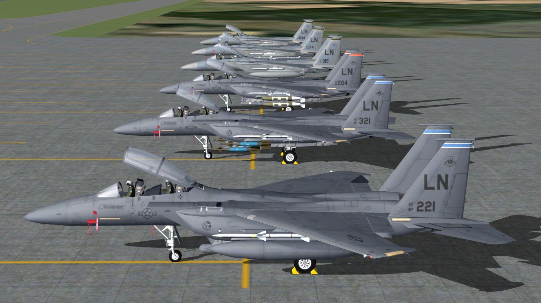 AI McDonnell Douglas F-15 Eagle C/D/E - USAF (JYAI