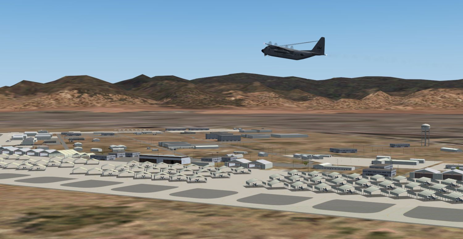 Package KDMA Davis-Monthan AFB - USAF Scenery and AI traffic for FS9