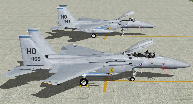 AI McDonnell Douglas F-15 Eagle A/B - USAF (JYAI) - Military