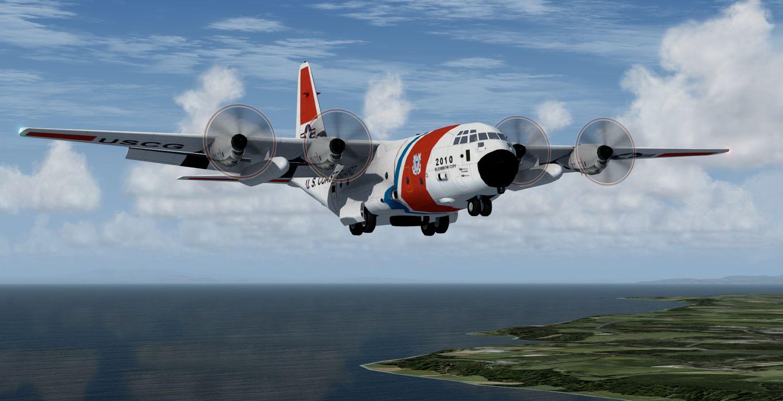 AI Lockheed Martin HC-130J - USCG Elizabeth City, for FSX