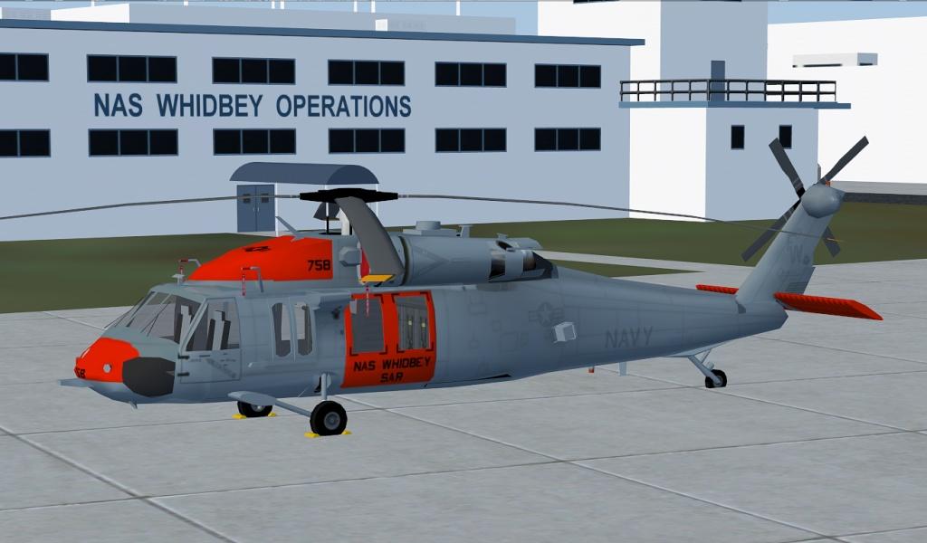 Repaint Sikorsky Sh 60 Seahawk Us Navy Nas Whidbey