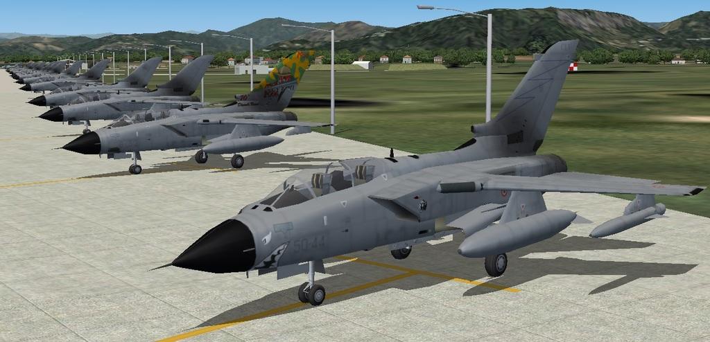 Package Italian Air Force Revised (FSX/P3D Tornado Cockpit