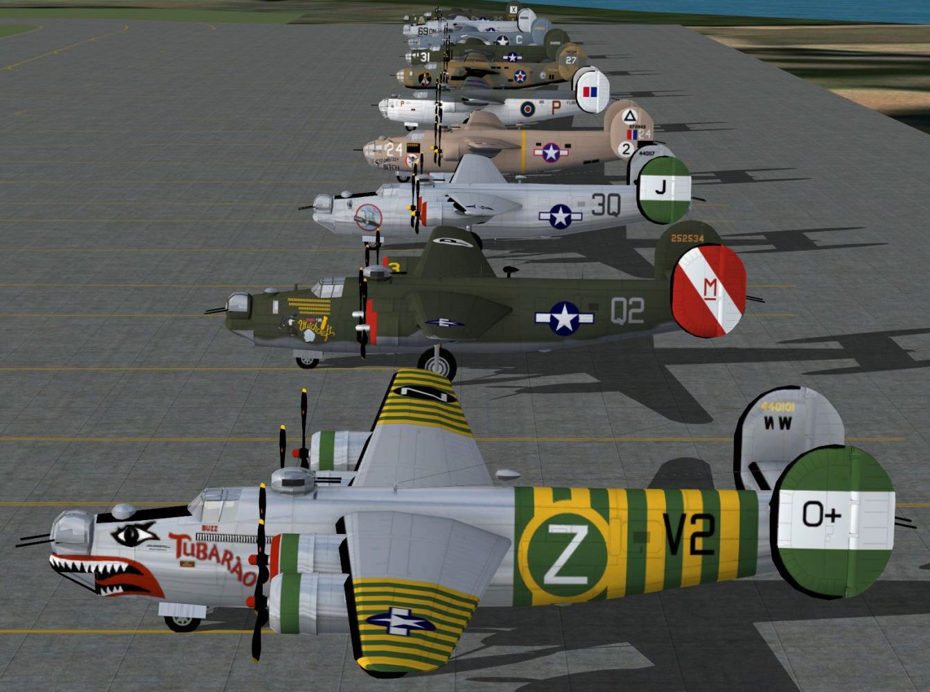 Aircraft Models (FSX) - Military AI Works