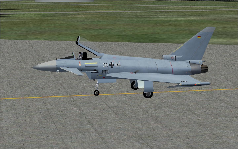 AI Eurofighter Typhoon - German AF TaktLwG 71 (NBAI