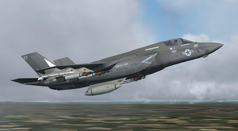 Package JYAI F-35's Part 4 – F-35B's for FSX and P3Dv4 - Military AI