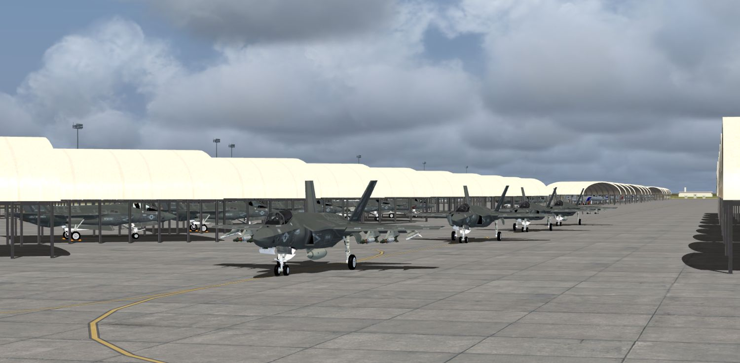 Package JYAI F-35's Part 3 – F-35C's for FSX and P3Dv4