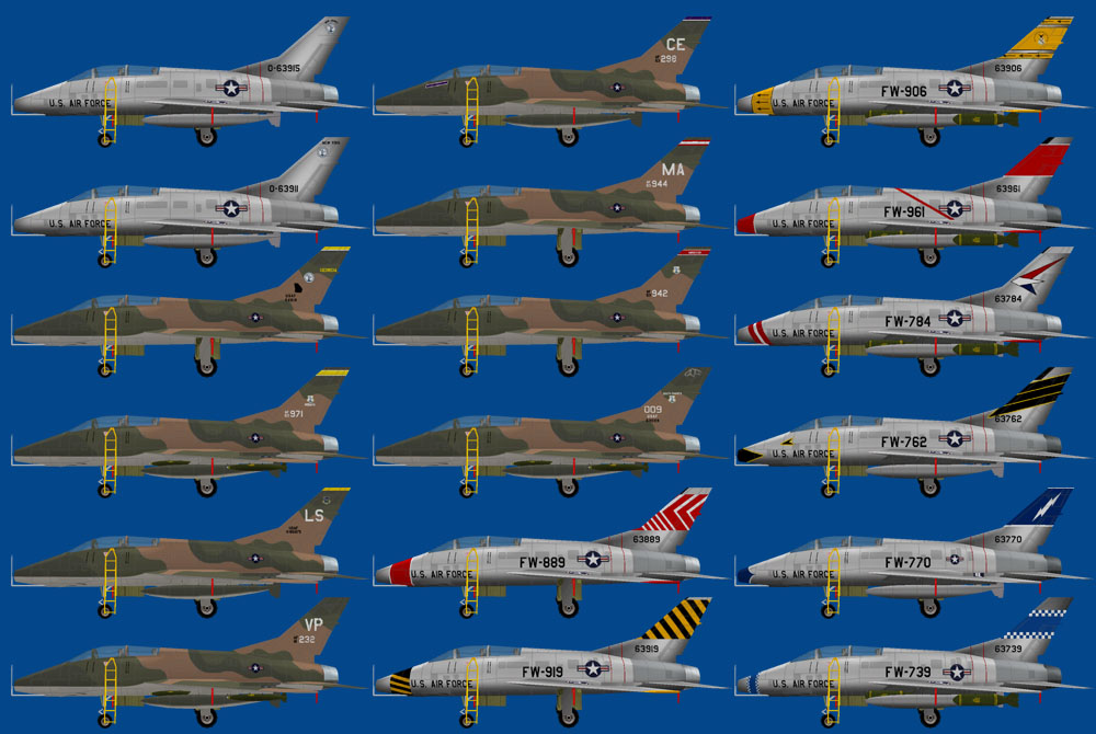 Military ai works aircraft models fs9 this aircraft also known as the hun was the first of a long success of century series fighter aircraft during the 1950s and 1960s publicscrutiny
