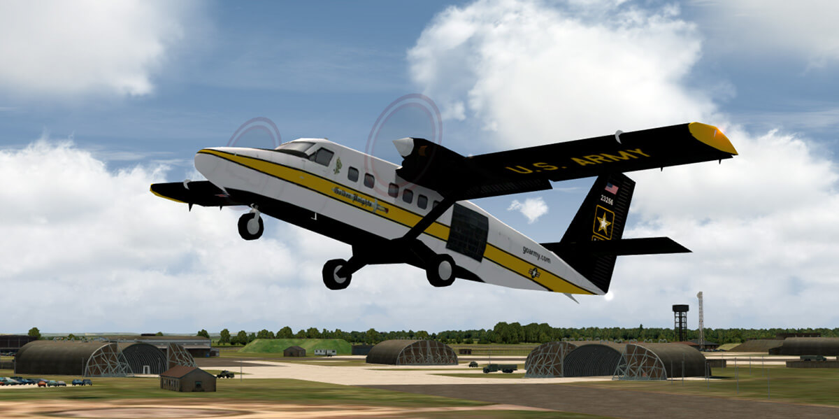 MAIW HTAI DHC-6 Twin Otter Conversion (FSX Version) - Military AI Works