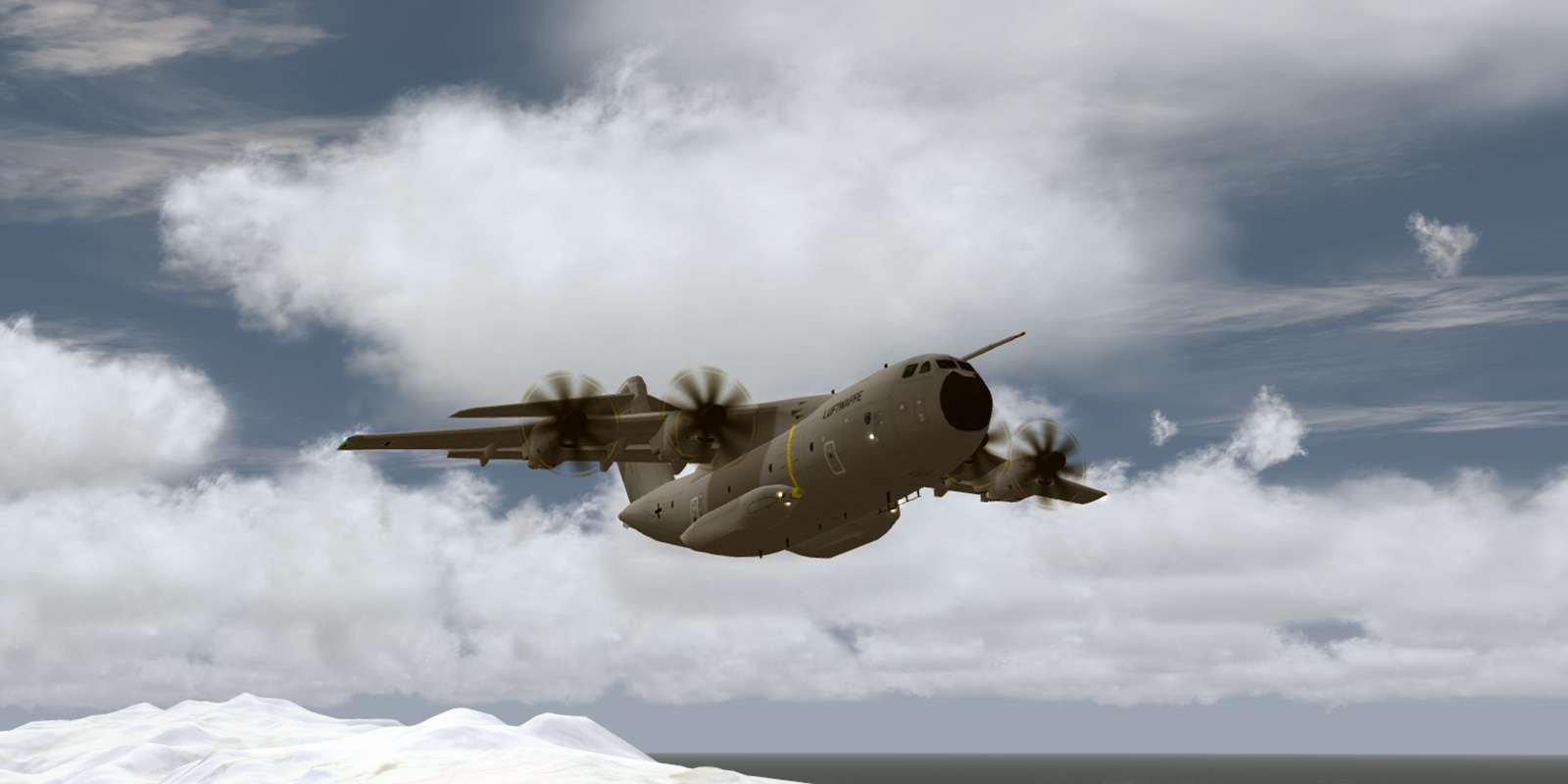 MAIW NBAI A400M Atlas Conversion (P3Dv4 Version) - Military AI Works