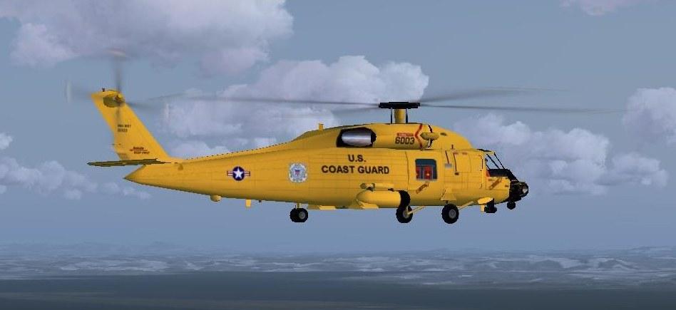 Repaint Sikorsky MH-60T Jayhawk - US Coast Guard Centennial