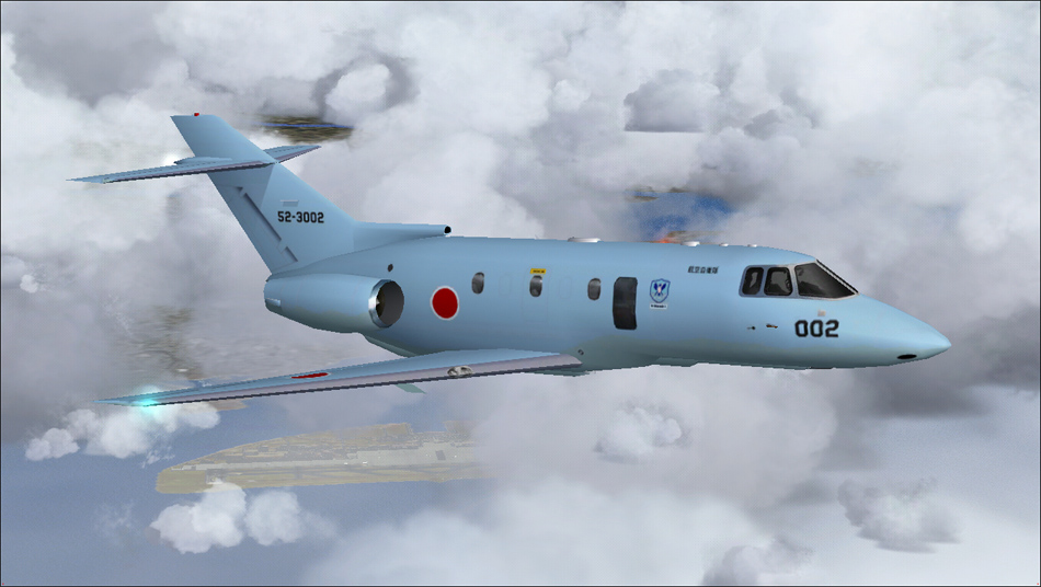 Repaint Hawker U-125A - JASDF Koku Kyunandan (HTAI ...
